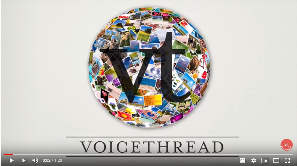 VoiceThread YouTube image